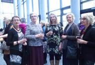 Frá vinstri: Þóra Sigurbjörnsdóttir, Hildur Gunnlaugsdóttir, Telma Rós Sigfúsdóttir og Jósefína Ólafsdóttir